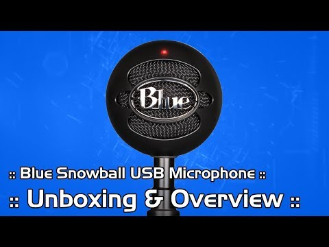 Blue Snowball Unboxing and Review :: Best Budget USB Condenser Microphone