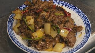 Spicy Cumin Lamb