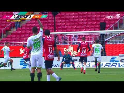 Gol de Jesús  Godínez   Chivas vs FC Juárez   Grita México A21 - Jornada 3   LIGA BBVA MX