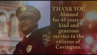 Thank you for 45 years of Service Assistant C...
