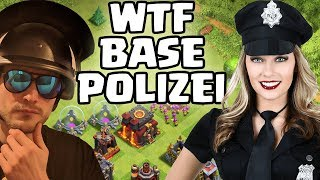 WTF BASE POLIZEI! 👮‍♀️ Clash of Clans 👮 CoC