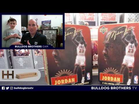 20+ YEAR OLD MICHAEL JORDAN METAL CARDS AND TINS