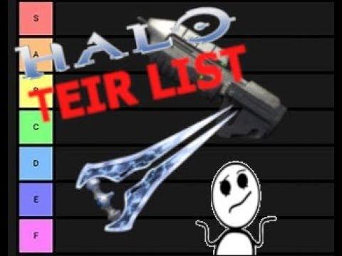 HALO 3 Weapons Tier List [ Sum Stuf ]