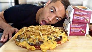 DIY MCDONALDS BIG MAC PIZZA!!