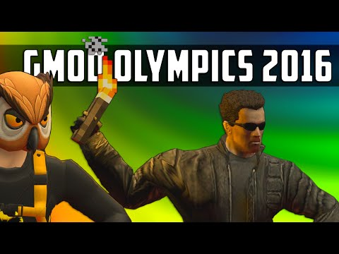 LET THE GAMES BEGIN, GMOD OLYMPICS 2016! | Garry's Mod Sandbox Ft. Friends!