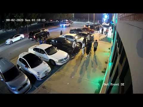 Fusillade entre deux gangs sur un parking aux USA.