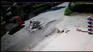 Accident in Kerala road