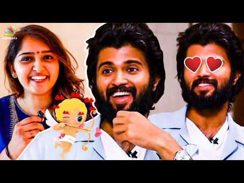 Date With Sanusha? | Vijay Devarkonda Responds | Dear Comarde Interview