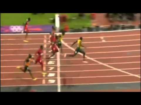 Usain Bolt Wins 100m Gold At London Olympics 2012 in 9.63 ...