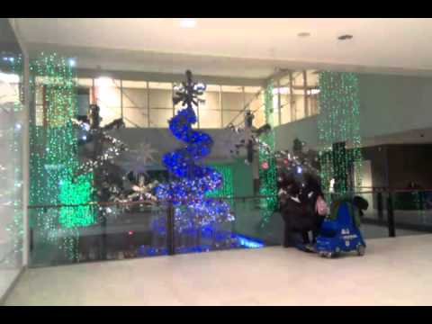 Kingsway Mall Musical Christmas Tree