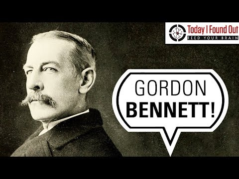 The Debauched (and Fascinating) Life Of Gordon Bennett