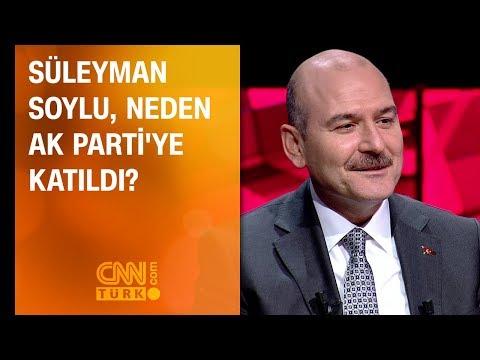 Süleyman Soylu neden AK Parti'ye...