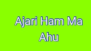 Ajari Ham Ma Ahu - Lagu Rohani Simalungun Terbaru