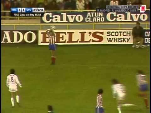 Real Madrid - Sporting de Gijón (Final Copa del Rey 1982 ...