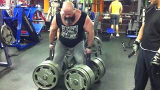 Локаут 2Х255 кг 19 01 2012 год