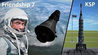 Space Race KSP - Mercury-Atlas 6 - Pure Stock Replicas
