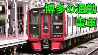 JR九州 都市博多の通勤電車 881系 883系 415系 303系