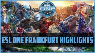 Best of: ESL One Frankfurt 2015 Highlights | DOTA 2 gameplay