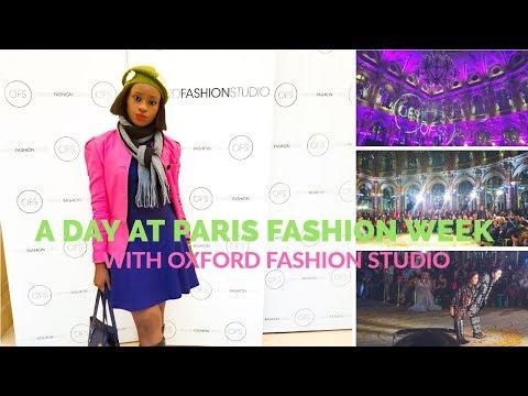 A Day at Paris Fashion Week with Oxford Fashion Studio