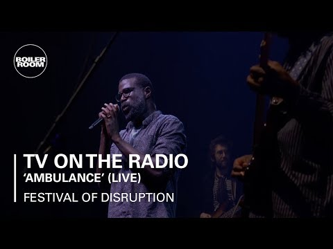 TV On The Radio - Ambulance - Boiler Room x David Lynch's Festival of Disruption Live Set