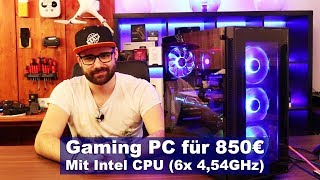 [SchimmerMediaHD] Intel Gaming PC für 850€ [Tutorial] [HD]