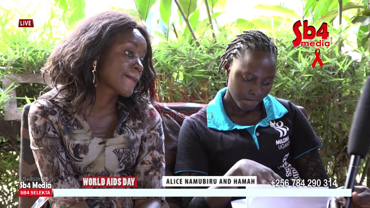 WORLD AIDS DAY  HAMAH NSUDUGA AND NAMUBIRU ALICE TEACHS HOW WE CAN STOP HIV-SB4 MEDIA