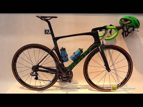 2016 Scott Foil Racing Bike 2016 Paris Roubaix Winner – Walkaround – 2016 Eurobike