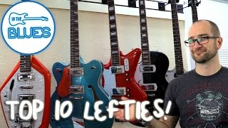 top 10 left hand electric guitars - jerry's lefty guitars