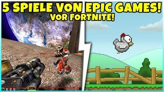5 Spiele die Epic Games vor Fortnite veröffentlicht hat!