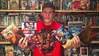 My Blu-ray Collection Update 10/29/16 : Blu ray and Dvd Movie Reviews