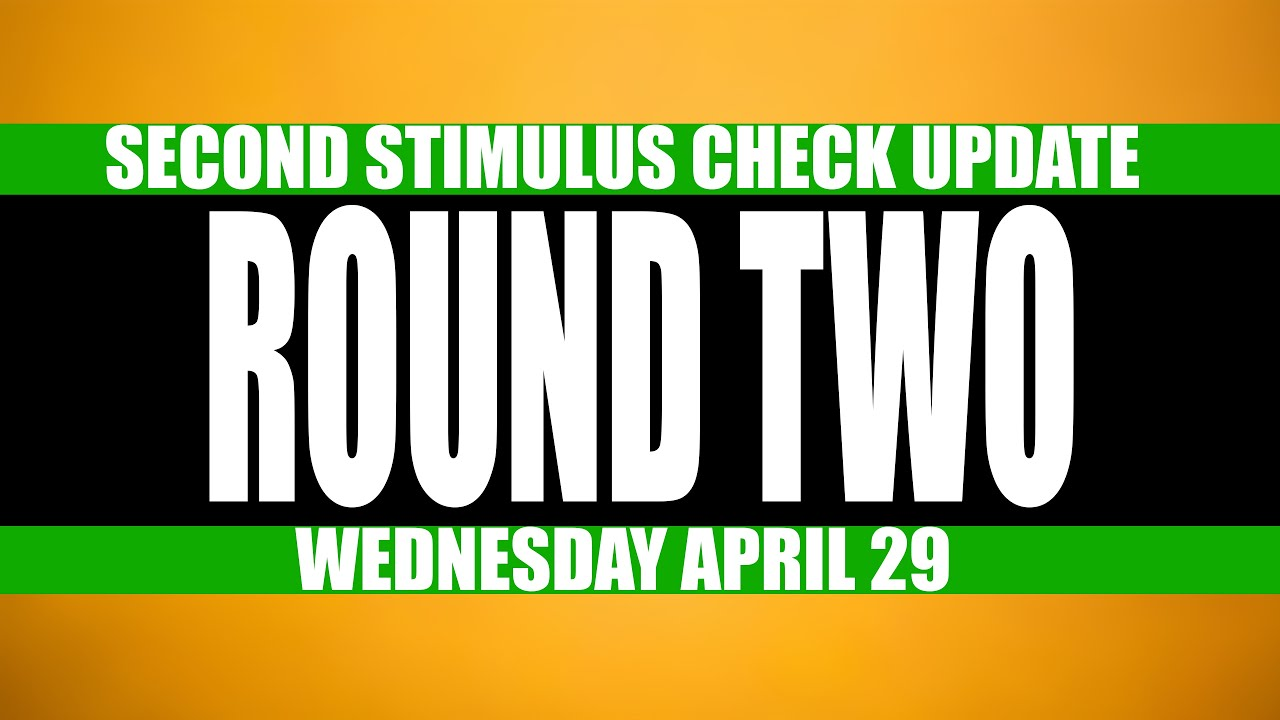 Second Stimulus Check Update: Stimulus Check Call To Action