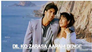 Dil Ko Zarasa Aaram Denge Video Song | Akshay Kumar , Raveena Tandon