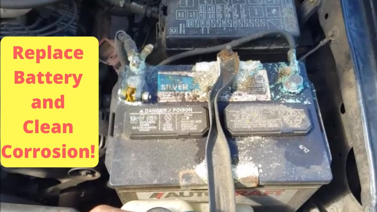 how to clean battery corrosion with coke