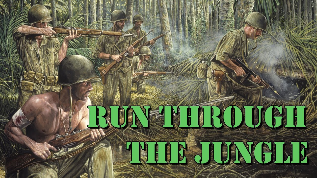 Running through the jungle song-8013