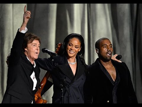 Download Rihanna, Kanye West & Paul McCartney - FourFiveSeconds live at the Grammys 2015