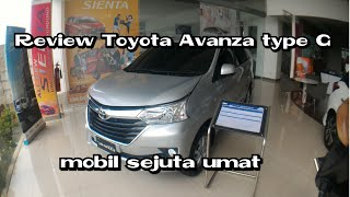 Review Toyota grand new Avanza Type G