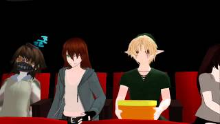 (MMD)That Creepypasta Show - Ben gets the wrong idea
