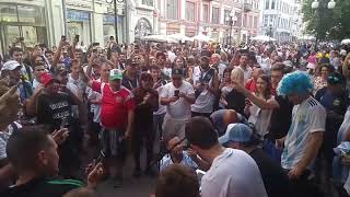 Чемпионат мира 2018 - Катюша в исполнении аргентинцев на Старом Арбате