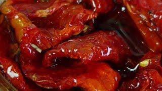 видео Вяленые помидоры в электросушилке