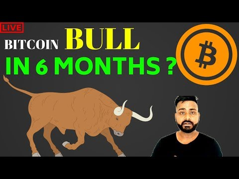 BITCOIN BULL IN 6 MONTHS?  GOOD NEWS FOR STELLAR AND QTUM COIN