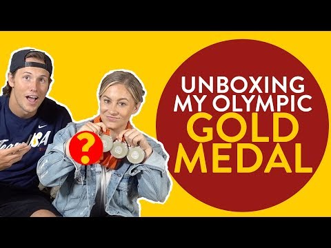 UNBOXING my Olympic GOLD Medal | Shawn Johnson