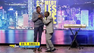 Dr T AMALE DARES A MUGANDA TO BECOME A PRESIDENT. COMEDY FILES LIVE 2017, UGANDAN COMEDY