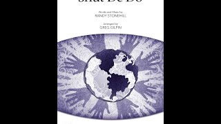 Shut De Do (SATB Choir) - Arranged by Greg Gilpin