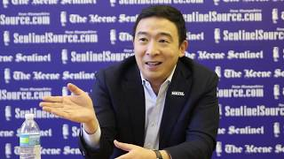 Editorial board interview with Andrew Yang
