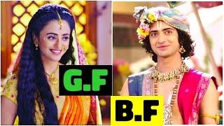"""Gambar cover Real Life Love Partners of """" RadhaKrishn """" Actors"""