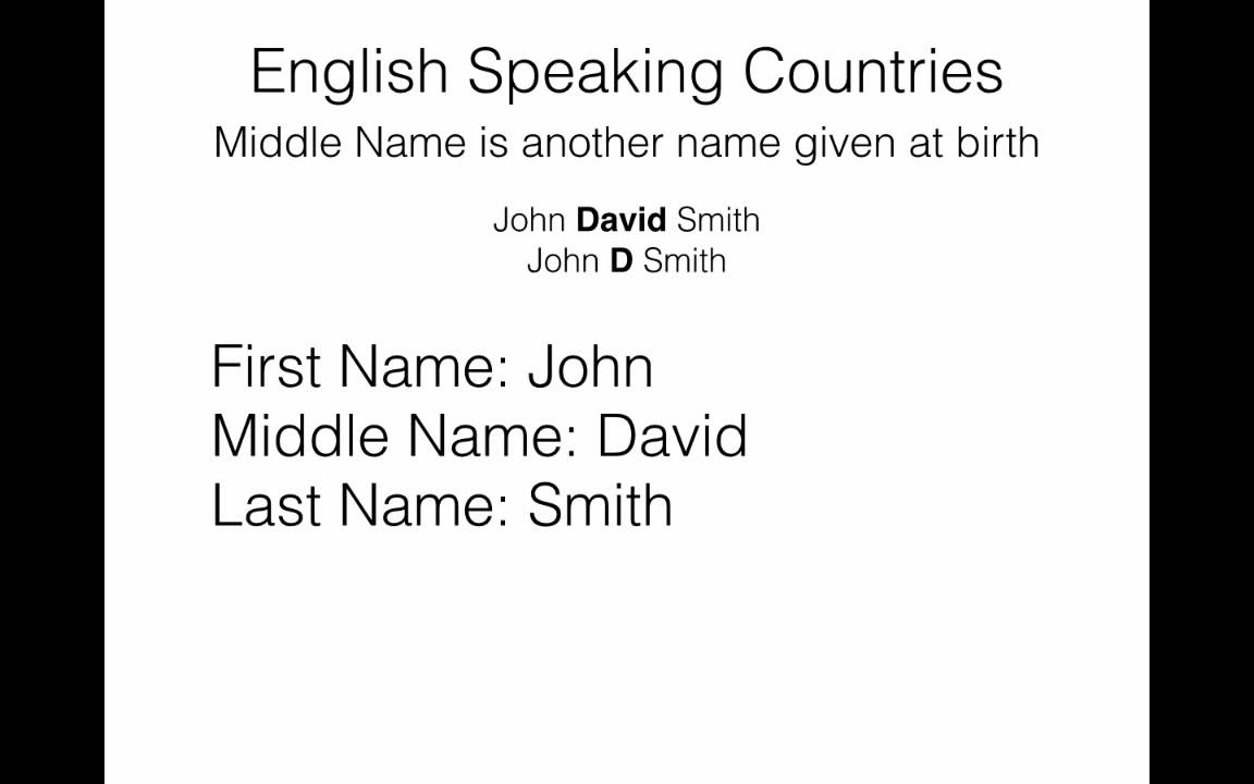 how to change your middle name