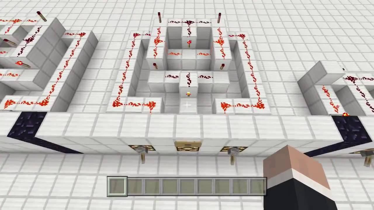 Minecraft Redstone Logic Gates