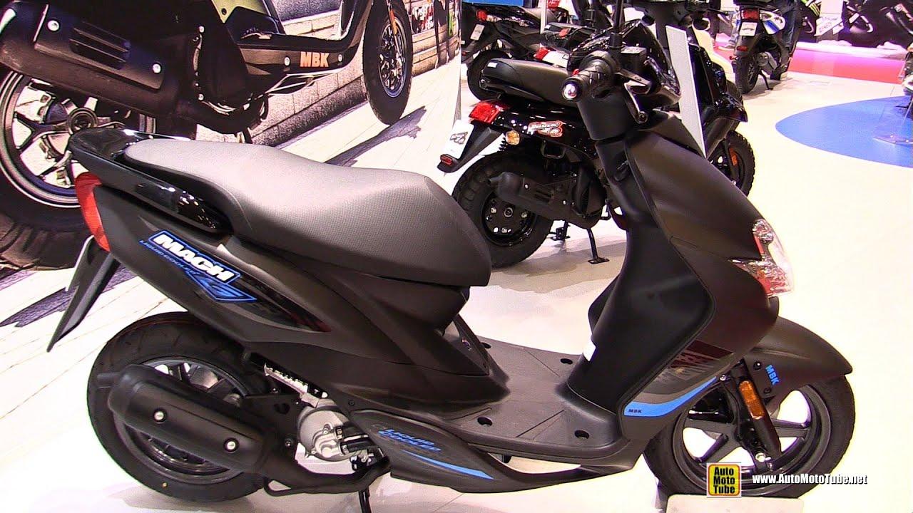 2016 mbk mach g 50 scooter walkaround 2015 salon de la moto paris youtube. Black Bedroom Furniture Sets. Home Design Ideas