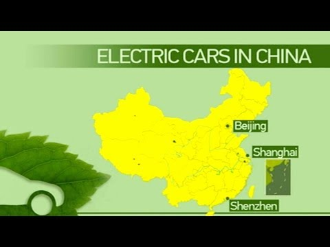 China emerges as world leader in battery-powered cars