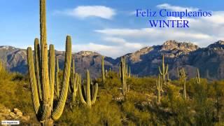 Winter  Nature & Naturaleza - Happy Birthday